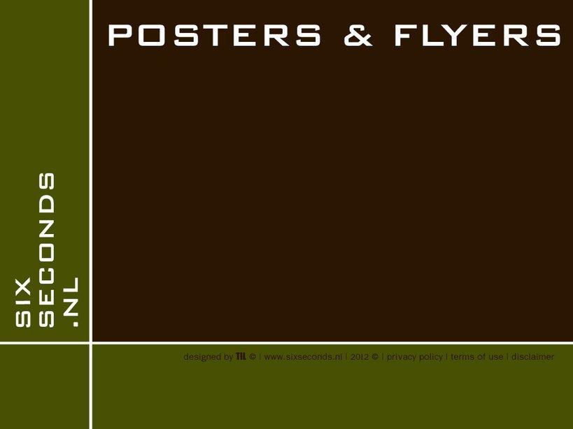 Posters en Flyers Six Seconds